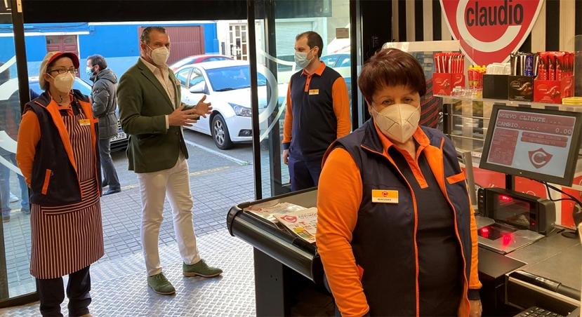 Grupo Gadisa inaugura una nueva franquicia de supermercados Claudio
